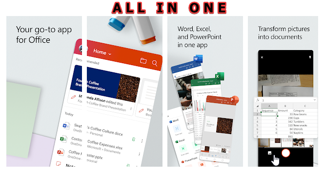 Microsoft Office app all in one