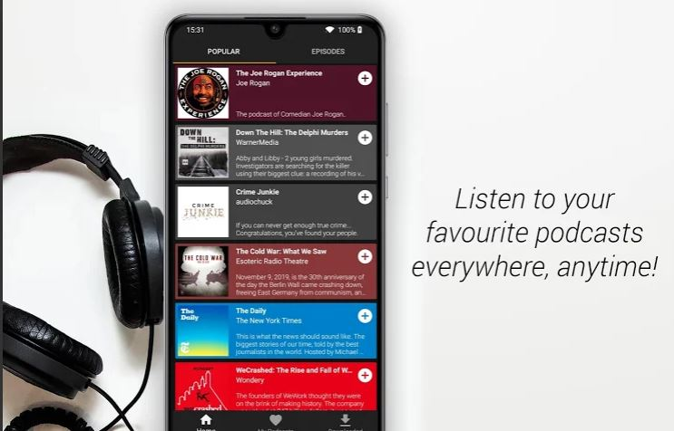 Podcast Go Android