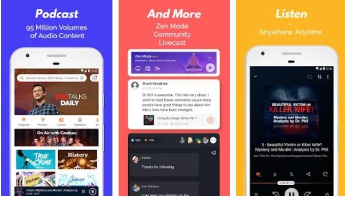 Podcast Player & Podcast App – Castbox