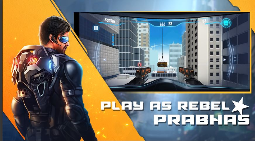 Saaho- The Game