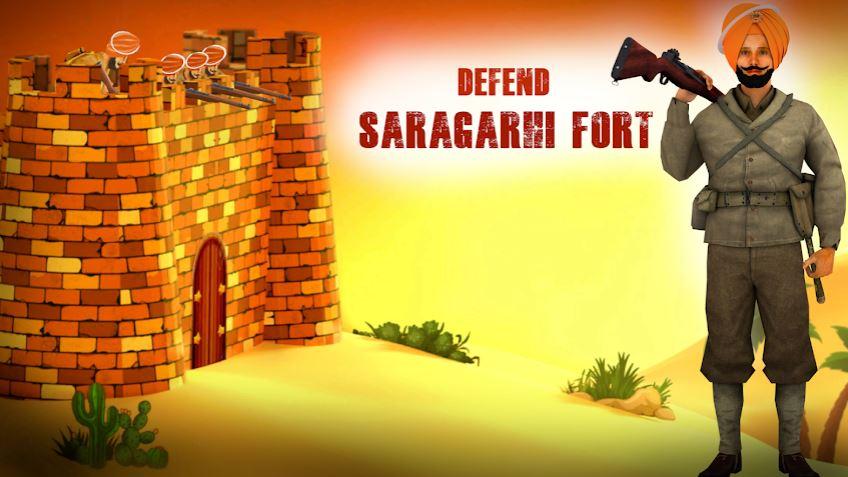 Saragarhi fort Defense