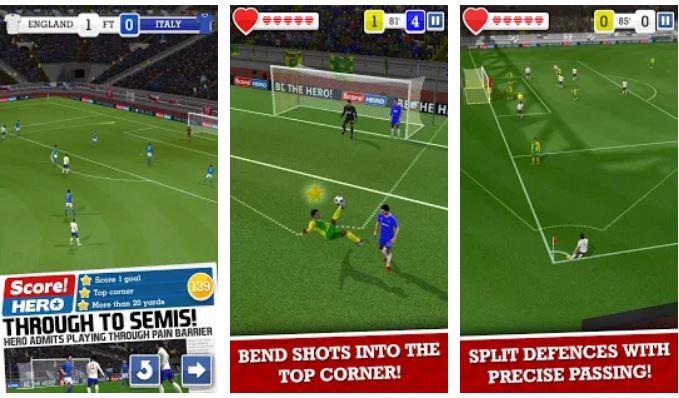 Score! Hero Soccergame