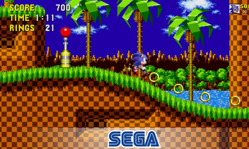 Sonic the Hedgehog Classic Android game