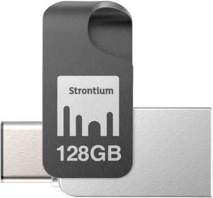 Strontium SR128GSLOTGCY 128 GB Pendrive