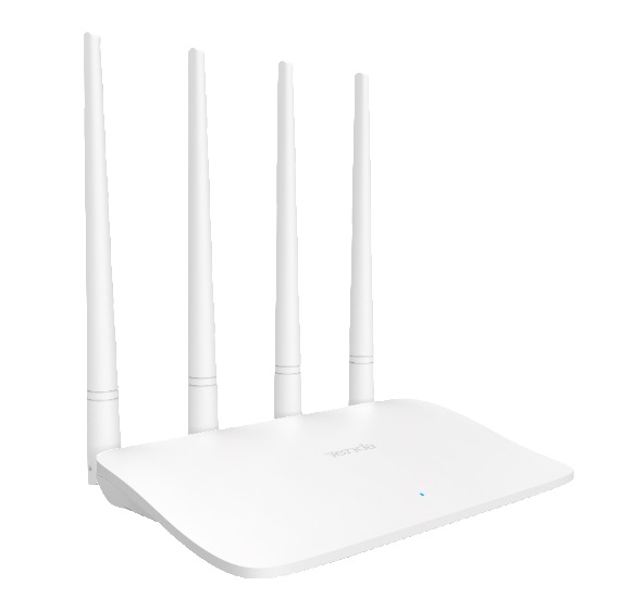 Tenda F6 router shape review