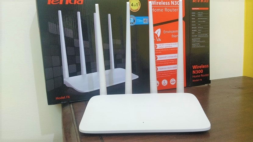 Tenda Router F6 v4.0 N300 home wireless router review-min