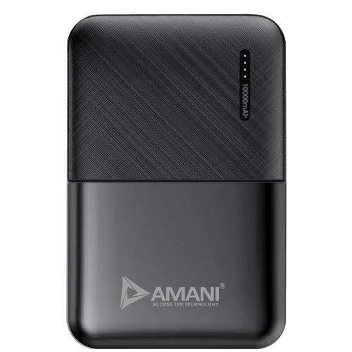 AMANI launches ASP-AM-108 10,000 mAh Power Bank   10,000 mAh lithium-polymer rechargeable battery