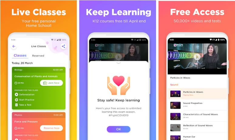BYJU'S – The Learning free App for Android