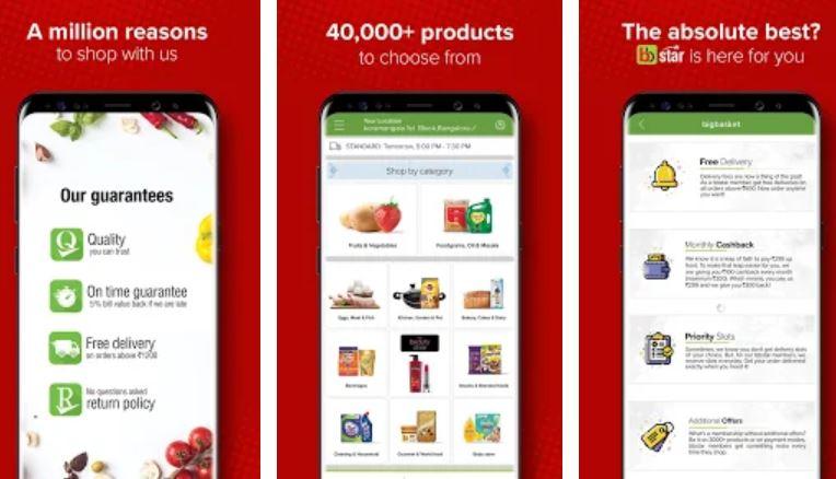 BigBasket – Online Grocery Shopping Apps