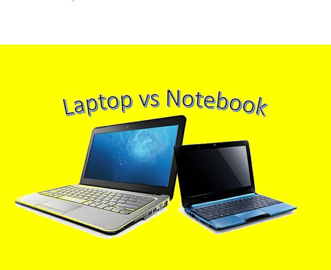 Differences between a laptop and a notebook PC