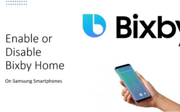 Disabling and enabling Bixby Home on Samsung handsets