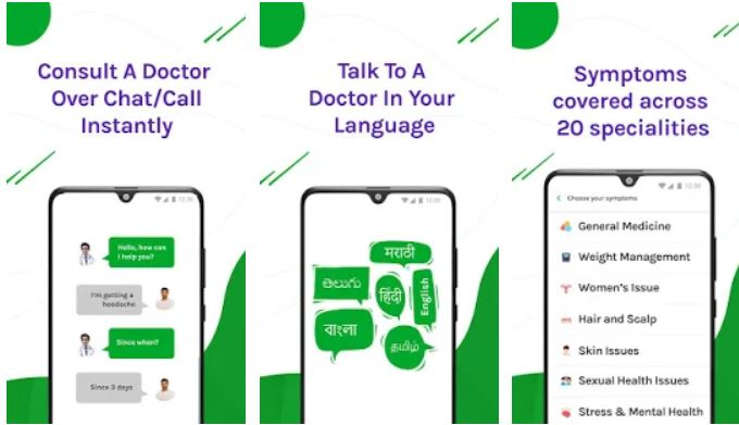 DocsApp – Consult Doctor Online 24×7 on Chat-Call