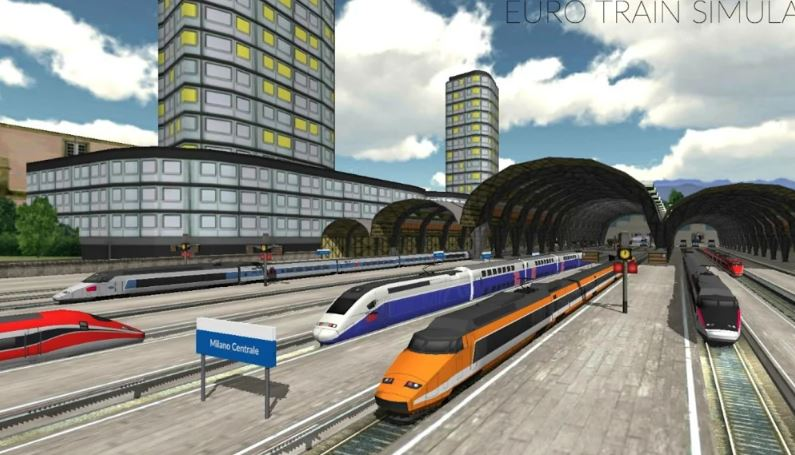 Euro Train Simulator Android game