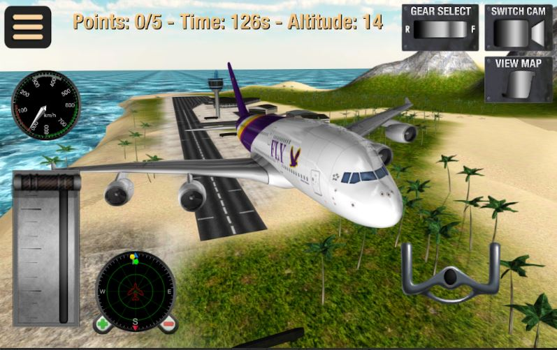 Flight Simulator Fly Plane 3D for Android