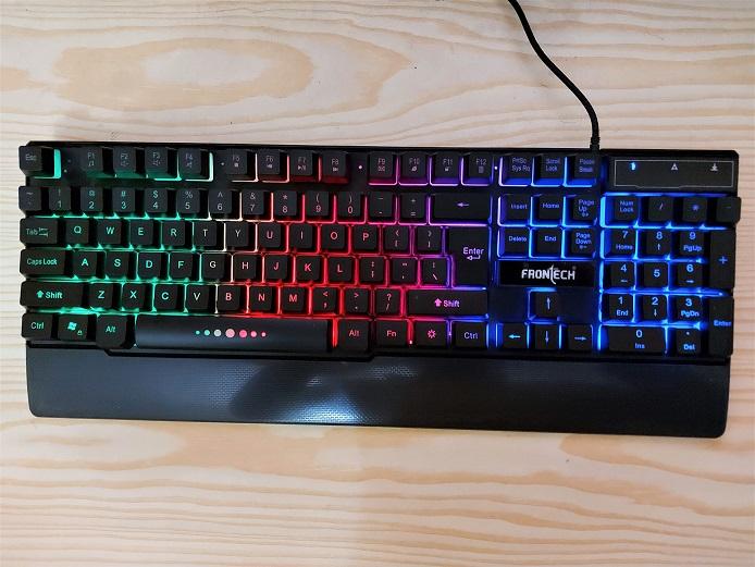 Frontech Pro JIL-1697 Keyboard RG lights