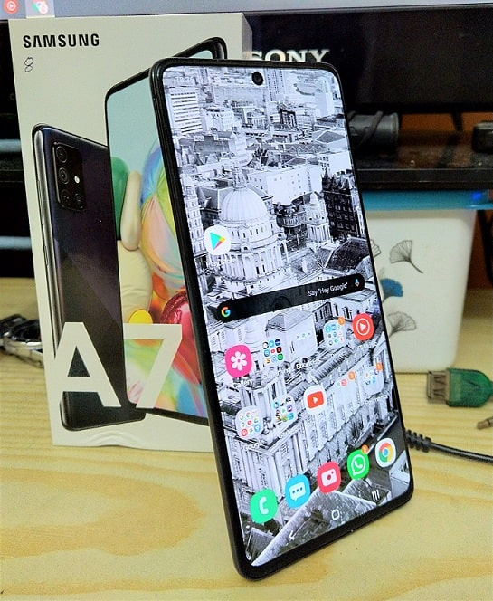 Galaxy A71 review