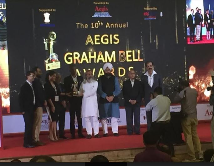 Letstrack wins Prestigious Aegis Graham Bell Awards for Innovation in Internet of Things