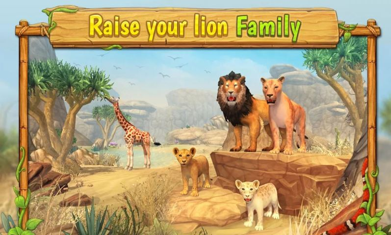 Lion Family Sim Online – Animal Simulator