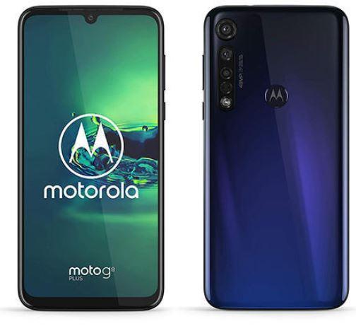 Moto G8 PLUS 4000mah battery smartphone