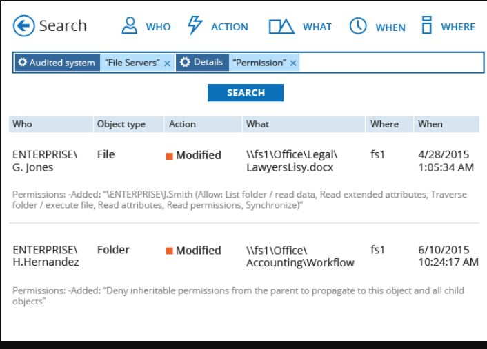 Netwrix for Windows File Servers