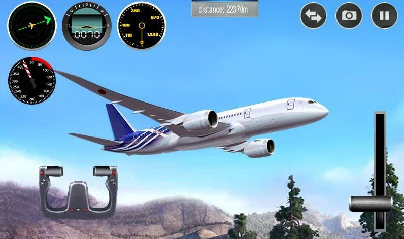 Plane Simulator 3D game for Android