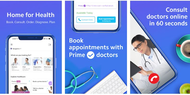 Practo- Book Doctor Appointment app for Android