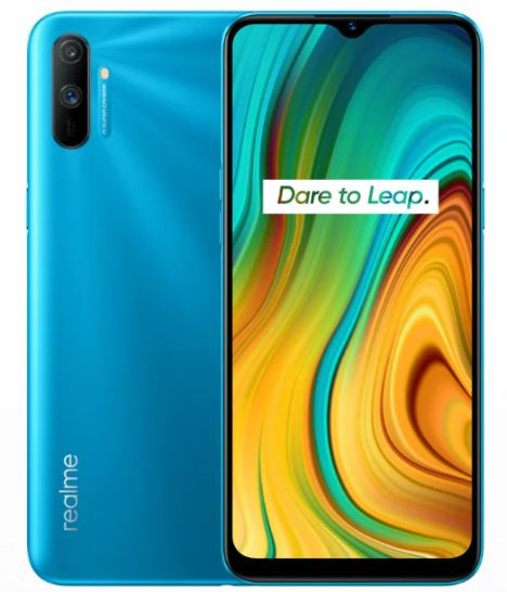 Realme C3 smartphpone with big battery