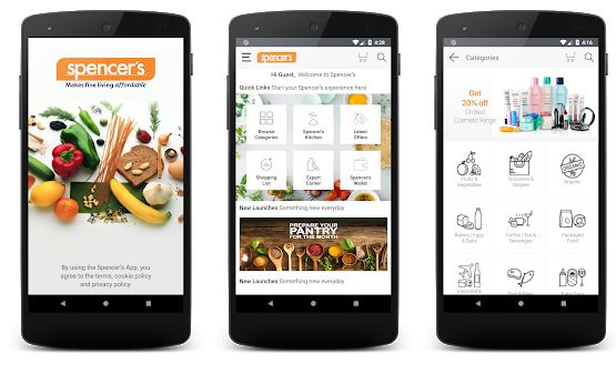 Spencer's – Online Grocery Shopping App in India