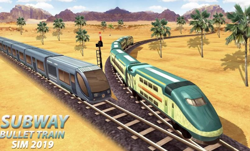 Subway Bullet Train Simulator 2019