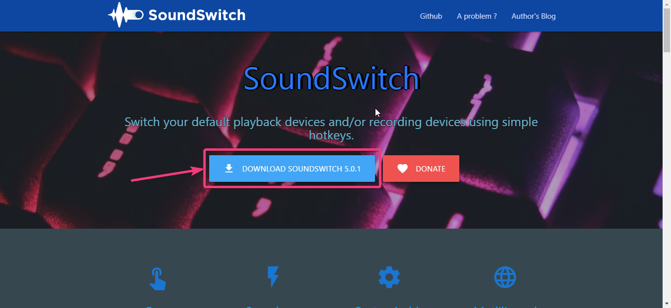 Switch sounds easily on Windows 10