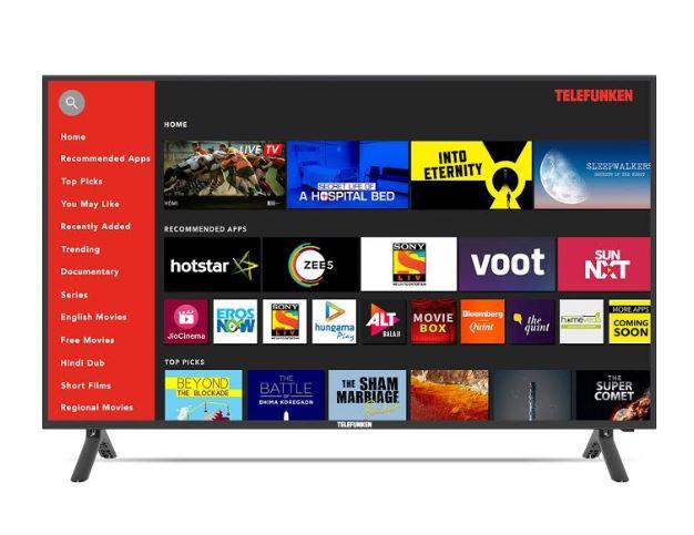 Telefunken announces HD and FHD Smart TV TFK39HDS