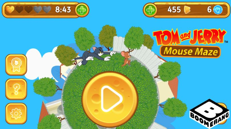 Tom & Jerry Mouse Maze FREE