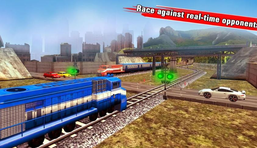 Train Racing Games 3D 2 Player for Android