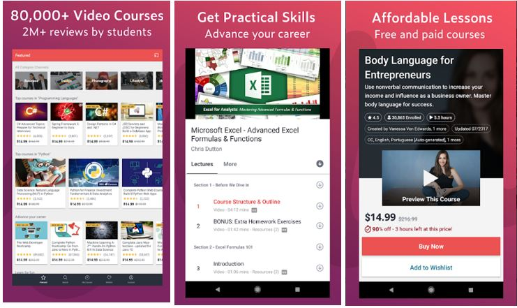 Udemy – Online Courses