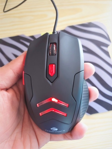 Zebronics Zeb-Feather Mouse review -min