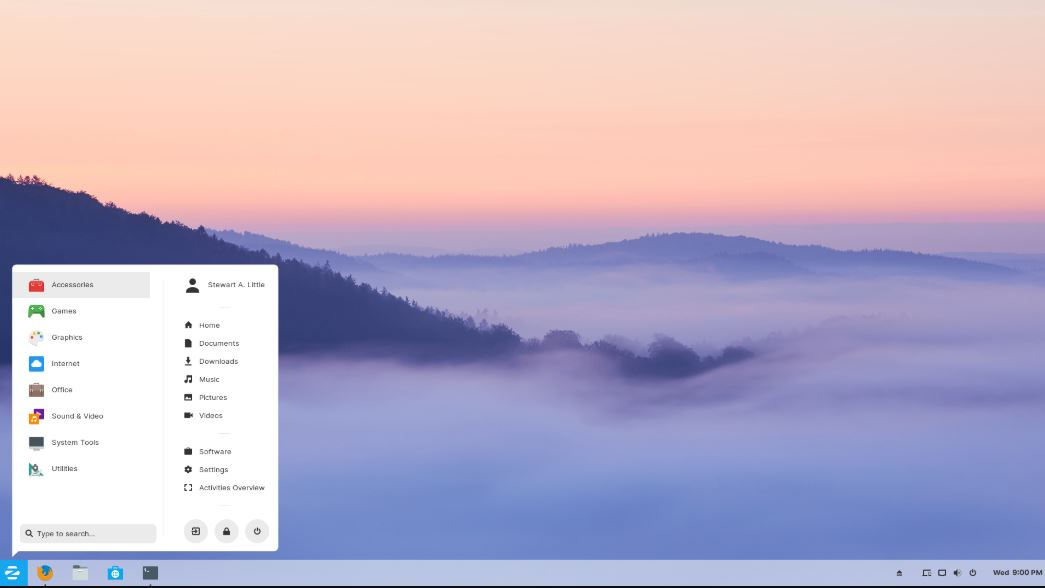 Zorin OS Linux distro with windows like best UI