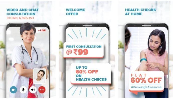 mfine – Consult Doctors Online & Book Health Tests