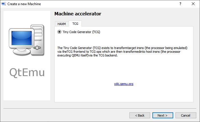 Accelerator Tiny code generator