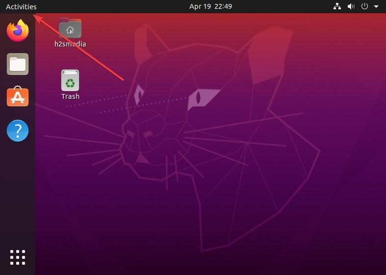 Access Activities of Ubuntu