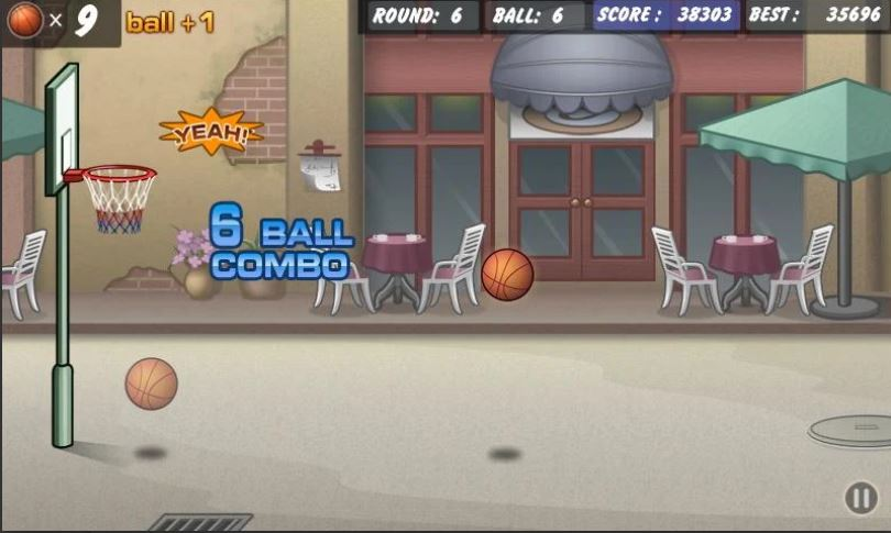 Basketball Shoot Android gaming app