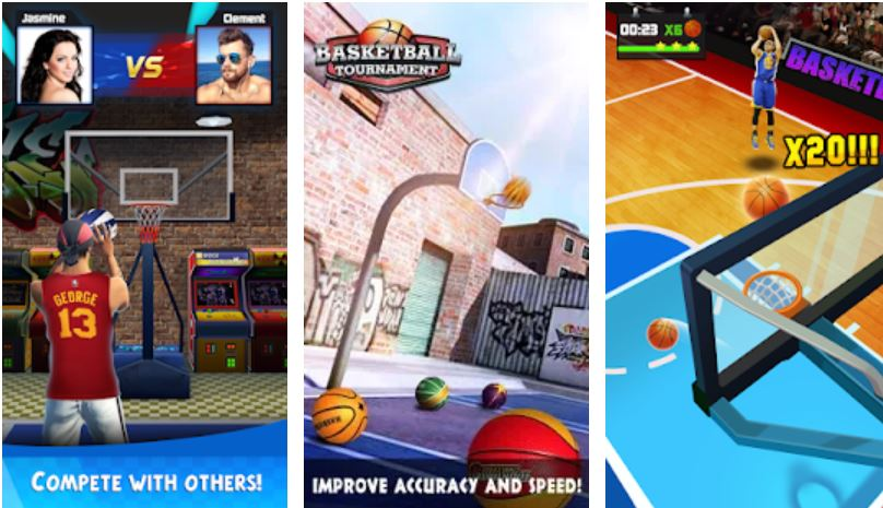 Basketball Tournament – Free Throw Game