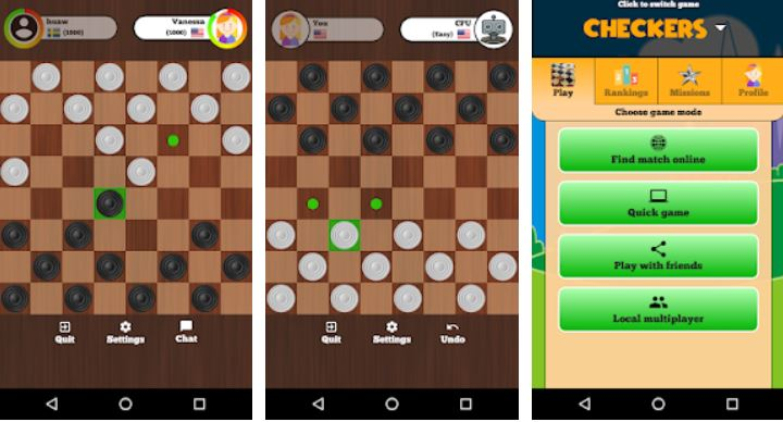 Checkers Online – Duel friends online-min