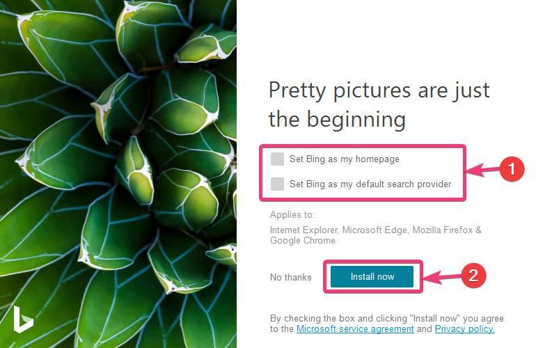 Install Bing Desktop Wallpaper