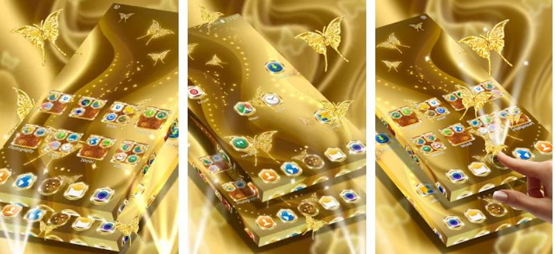 Golden theme app