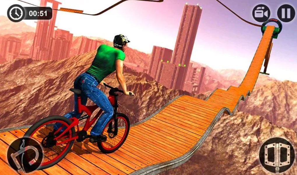 Impossible BMX Bicycle Stunts-min