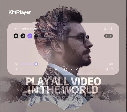 KMPlayer – All Video & Music Player
