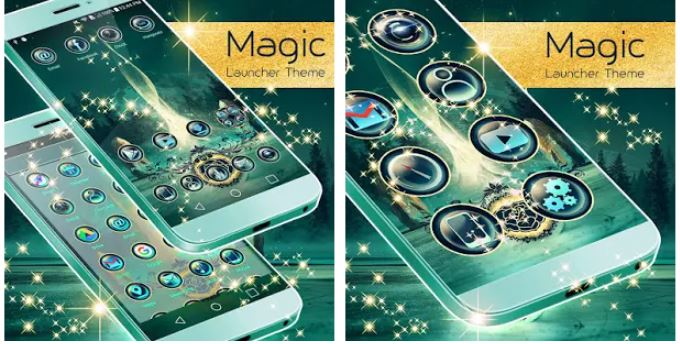 Magic Launcher Theme