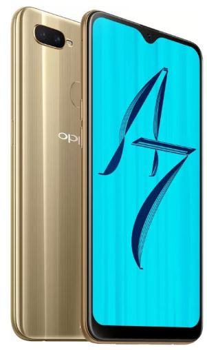 Oppo A7 smartphone