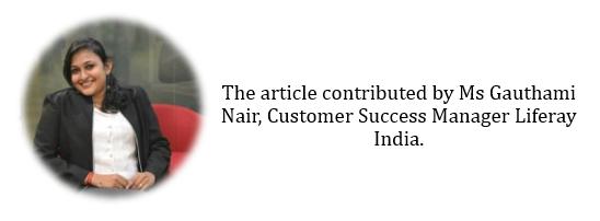 Ms Gauthami Nair, Customer Success Manager Liferay India