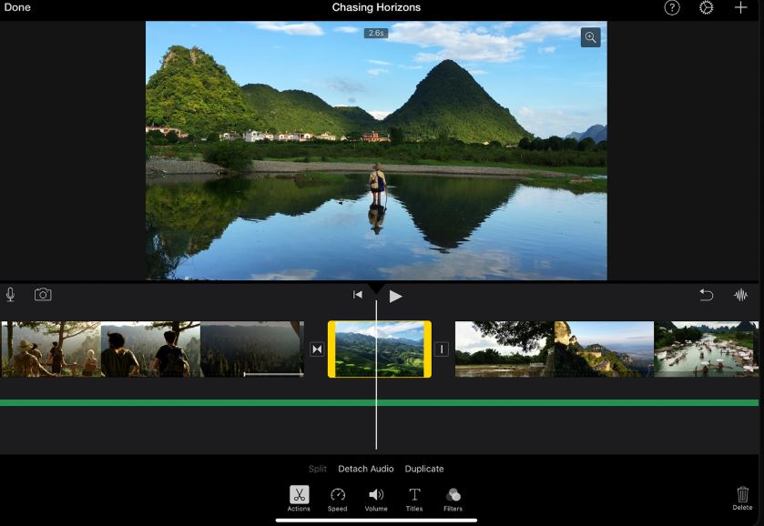 iMovie – Video Splitter for Mac